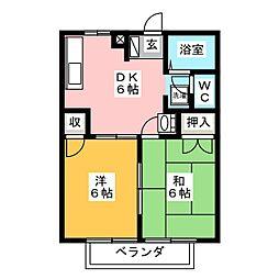 ミライポート[2階]の間取り