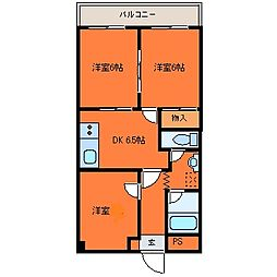 ローヤルマンション[205号室]の間取り