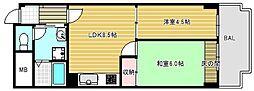 江戸堀アーバンライフ[3階]の間取り