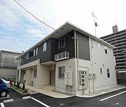 愛媛県松山市竹原2丁目の賃貸アパートの外観