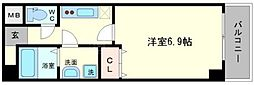 グランパシフィック本田[2階]の間取り