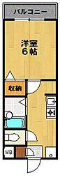 メゾンプラバ[305号室]の間取り