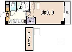 桜ケ丘晴楽館[1501号室]の間取り