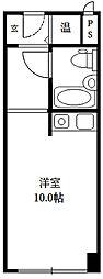 ファミールハイツ北大阪3号棟[212号室]の間取り
