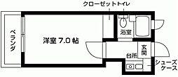 スペースイン笠寺[201号室号室]の間取り