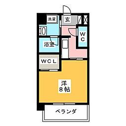 CELESTATION[5階]の間取り