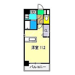 ロイヤルリバー[3階]の間取り