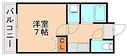 エターナル親栄[4階]の間取り