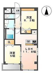 三反田町新築マンション(仮[1階]の間取り
