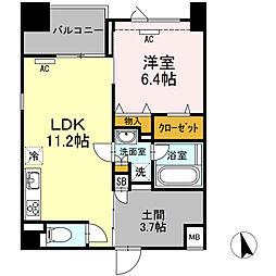 (仮)高島平プロジェクト[305号室]の間取り