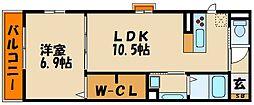 (仮称)明石市本町D-room[1階]の間取り