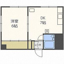 ドエル大通22[5階]の間取り