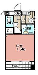 ピュアドームグランディ博多 (602)[602号室]の間取り