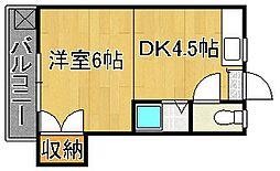 レガーロ黒崎I[105号室]の間取り