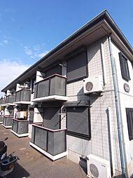 埼玉県志木市柏町3丁目の賃貸アパートの外観