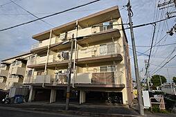 大阪府藤井寺市国府2丁目の賃貸マンションの外観
