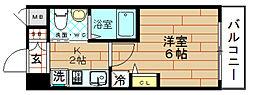 クリスタルグランツ大阪センター st[9階]の間取り
