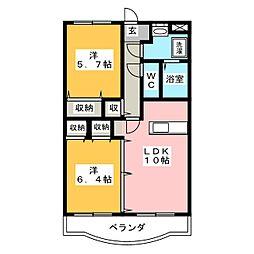 Y&M SOCIE[1階]の間取り