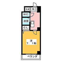 エトアール平針II[2階]の間取り