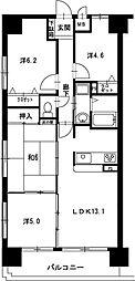 リベール姫路駅前202[202号室]の間取り
