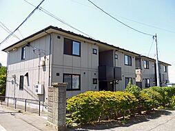 サンライズ赤坂AB[A101号室]の外観