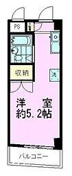 ホウシンハイムIII[3階]の間取り