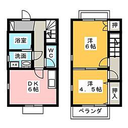deux Maison[1階]の間取り