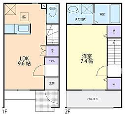 チェリーブロッサム・ヨシノ[2階]の間取り