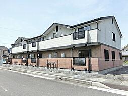 滋賀県甲賀市水口町貴生川の賃貸アパートの外観