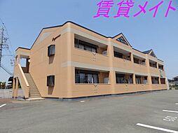 三重県多気郡明和町大字新茶屋の賃貸アパートの外観