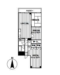 サンヒルズ桜台[504号室]の外観