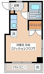 小野崎ビル[402号室]の間取り