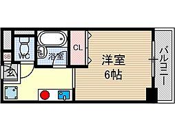 エスペオーラ近藤[4階]の間取り