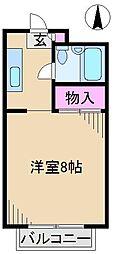 十条ベルクハイム[2階]の間取り