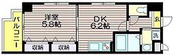 エスポアール蘆花公園[4階]の間取り