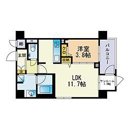 西鉄香椎駅 8.3万円