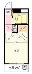 Mプラザ8坂戸[203号室号室]の間取り