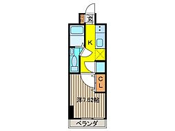 アルファコート西川口6[2階]の間取り