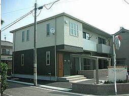 広島県福山市南本庄3丁目の賃貸アパートの外観