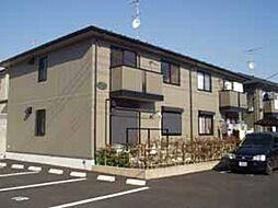 埼玉県熊谷市船木台5丁目の賃貸アパートの外観