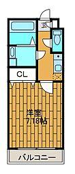 シャトープレジール[2階]の間取り