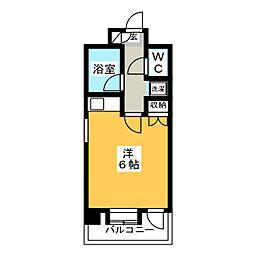 朝日プラザ博多VII[10階]の間取り