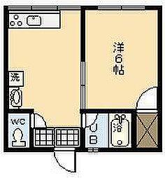 第10永吉ビル[202号室]の間取り