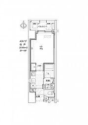 ミュージション溝の口[5階]の間取り