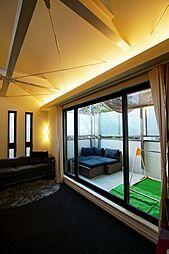 洗足の戸建 積水ハウス(株)旧施工デザインハウス 1SLDKの居間