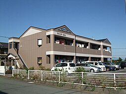 静岡県富士市西柏原新田の賃貸アパートの外観