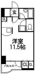サンシャイン・シティー弐番館[3階]の間取り