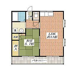 NKハイツ[2階]の間取り