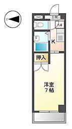 CASA ナカシマ[3階]の間取り