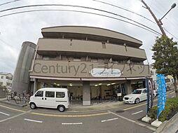 大阪府池田市八王寺2丁目の賃貸マンションの外観
